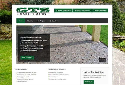 Small Business Site: GTS Landscaping