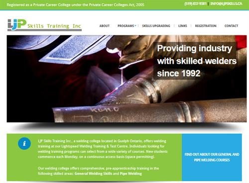 Small Business Site: LJP Skills