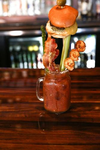 Our Bloody Mary Luau.