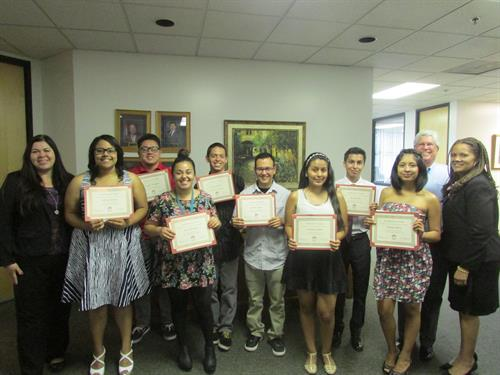 Baldy View ROP Foundation Scholarship winners