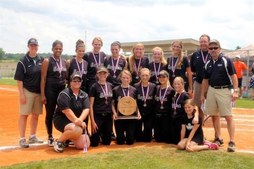 2013 State Champion softbal team