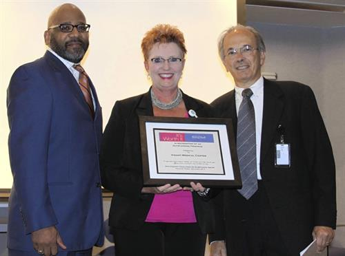 Pitt County Coalition on Substance Abuse presents award to Vidant Medical Center