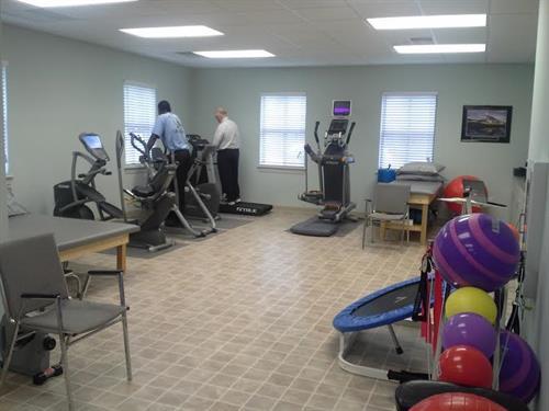 Open Spacious Gym