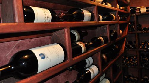 Award Winning Wine Cellar