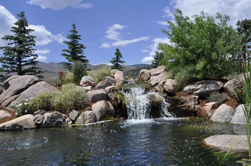 GB Ponds and Waterfall