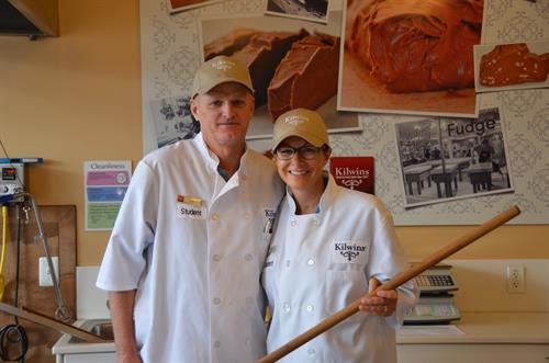 Owners Tom and Stacie Holbel