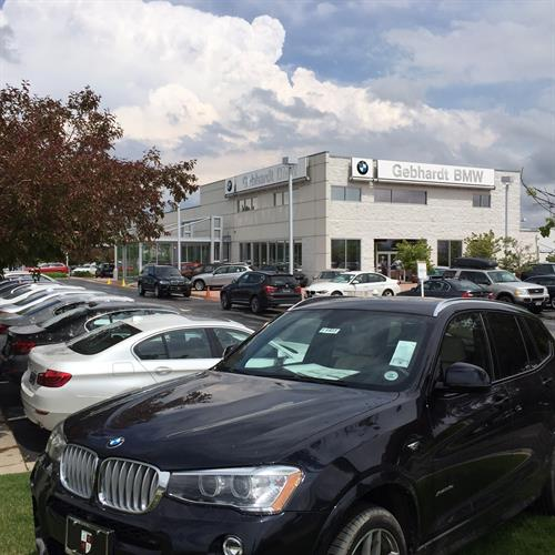 Another great day here at Gebhardt BMW in Boulder, Co