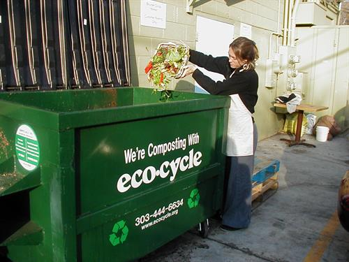 Approximately 40% of all landfill solid waste can be diverted to composting