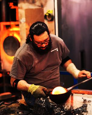 Open Daily. Enjoy watching our glassblowers create the one-of-a-kind pieces handmade at Simon Pearce.