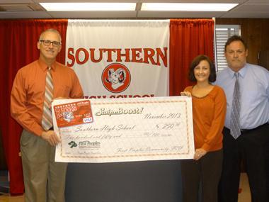 2013 Southern SwipeBoost Donation