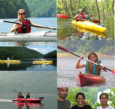 Kayak Tours with no worries