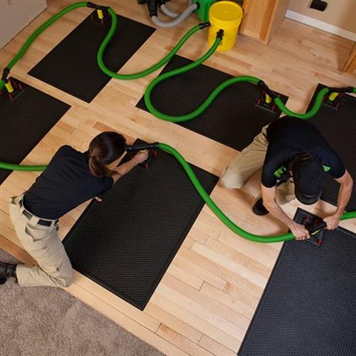 Wood Floor Drying