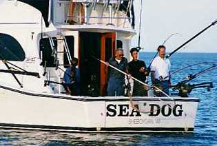 Sheboygan charter fishing on Lake Michigan