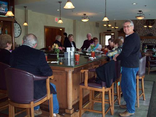Dining Club meets monthly