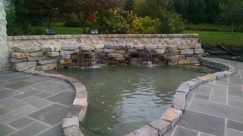 Pond/Waterfall Design & Construction - Sheboygan, WI