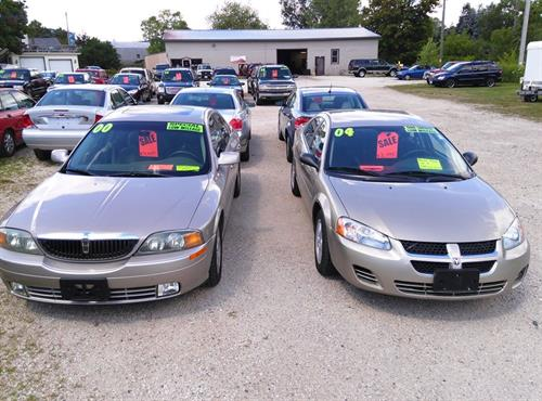 We sell used vehicles under $8,000