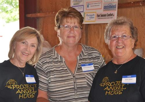 Volunteers at our Benefit
