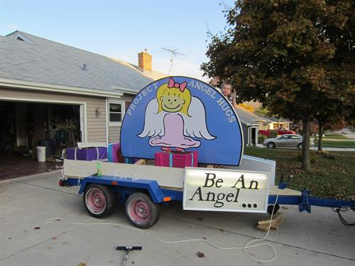 Our parade float