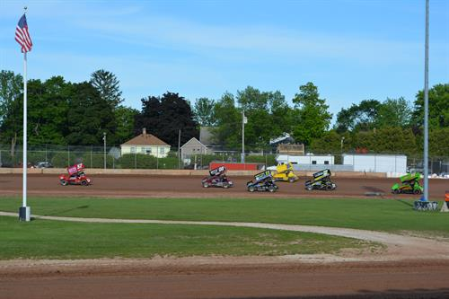 Plymouth Dirt Track Races