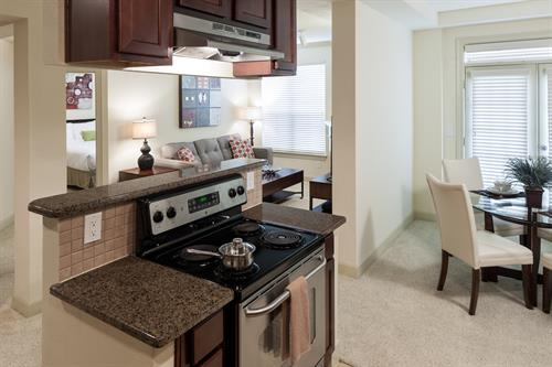 Furnished apartments come with everything you need. A home away from home.