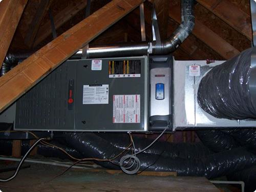 Furnace and Air Cleaner Installation by Samm's Heating and Air