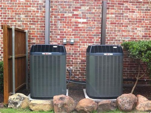 Dual Condenser Replacement by Samm's Heating and Air