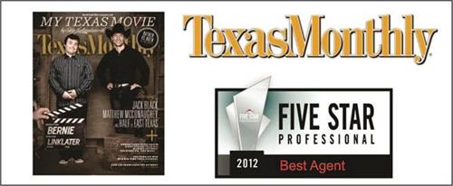 2012 Texas Monthly Best Agent Award