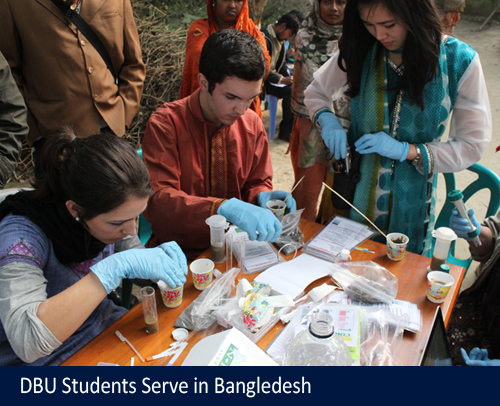 DBU Students Serve in Bangladesh