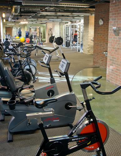 Break a sweat in our high-tech fitness centers in Addison.