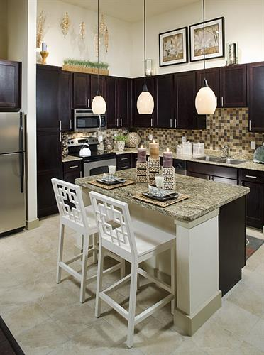 Luxury kitchens in our community in Frisco.