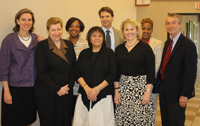 CDC Representatives visit from Atlanta to discuss our nationally-acclaimed Community Cancer Screening ProgramTM