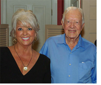 Paula Deen and Former President Jimmy Carter join us for our Plains For Supper event!