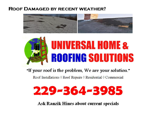 Storm Damage? Call 229-364-3985 NOW!