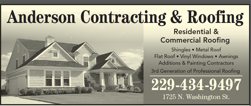 Anderson Contracting Roofing Contractors Builders Inspectors Roofing Albany Area Chamber Of Commerce Albany Business Directory