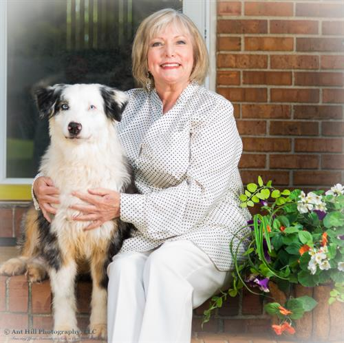 Darlene and Flash (Australian Shepard)