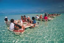 Lunch in Taihiti