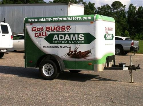 Adams Exterminators - Ready to battle the bugs!