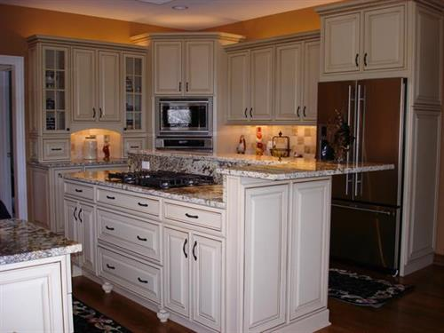 Traditional Kitchen with French Country Accents