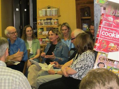 Area authors participated in a networking and learning session at Chapters