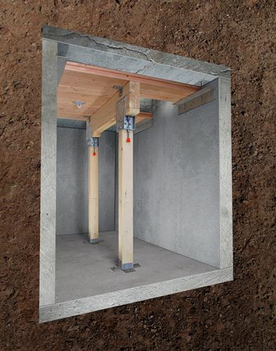 AVR Adjustable Vault Reinforcement® System