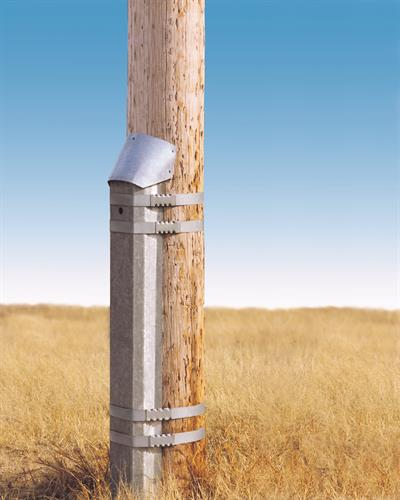 Pole Repaired with the PoleEnforcer®
