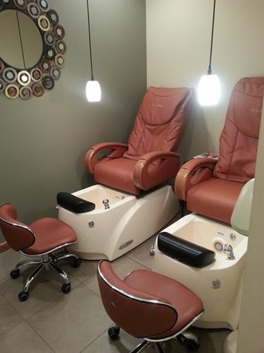 Our Private Pedicure Room
