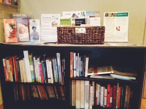 Our patients may borrow any books/media from our extensive lending library.