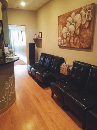 Make yourself at home in our comfortable waiting lounge when you arrive.