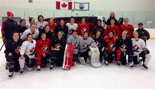 Team Canada won the 2010 Olympic Gold Medal on Our General Manager's Ice - hope this brings them luck in 2014