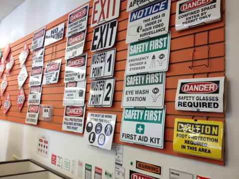 If you don't see a sign that you need, we'll custom make it for you