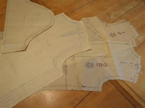 pattern drafting and grading