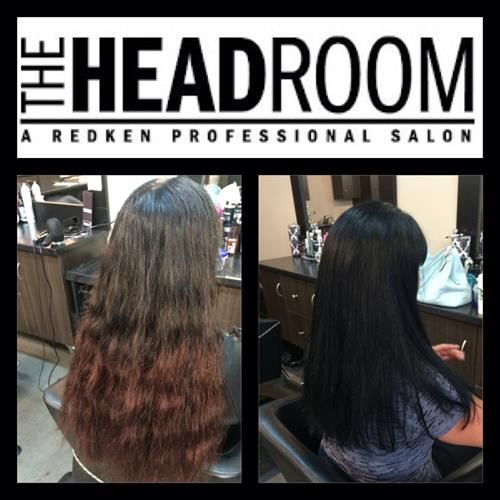 Redken custom color by Danielle Cherewyk at The Headroom