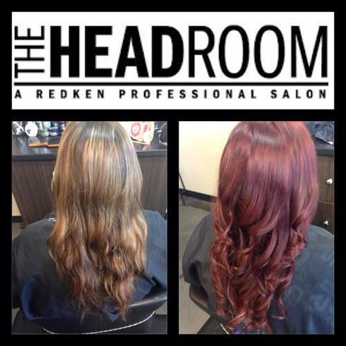 Custom Redken color by Desire Morin at The Headroom