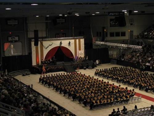 Graduation ceremonies at Crystal Centre